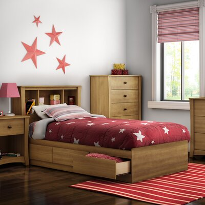 Jumper Twin Mates Bed with Storage