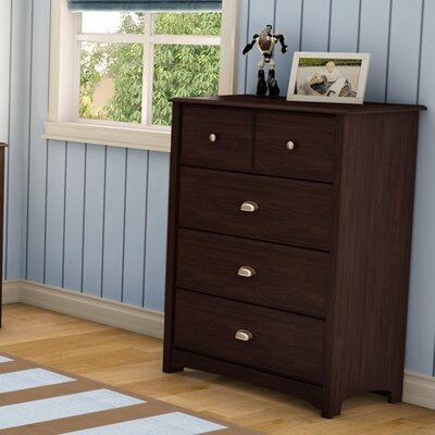 4 Drawer Chest Finish: Havana