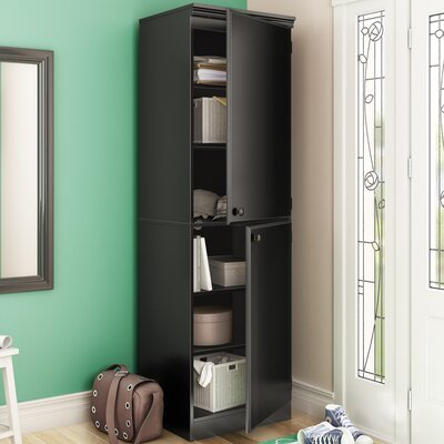 Preciado Contemporary Armoire Finish: Pure Black