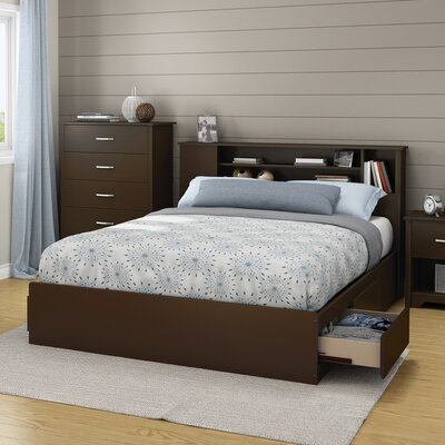Fusion Queen Storage Platform Bed Finish: Chocolate