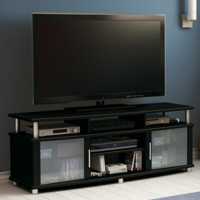 City Life 59 TV Stand Color: Pure Black