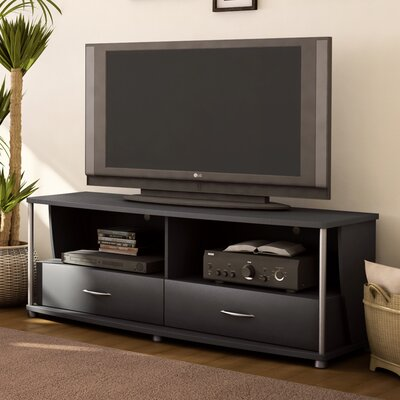 City Life 60 TV Stand Color: Pure Black