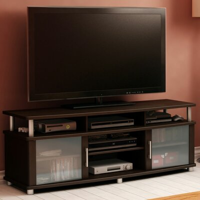 City Life 59 TV Stand Color: Chocolate
