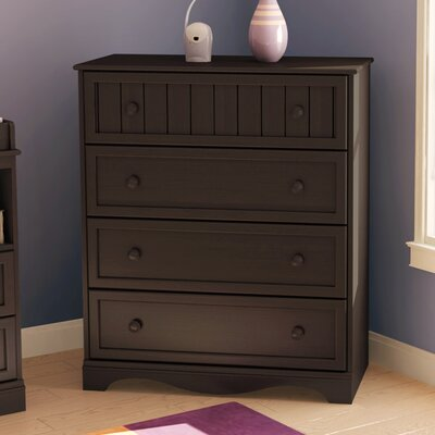 Andover 4 Drawer Chest Finish: Espresso