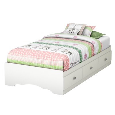 Tiara Twin Mates Bed with Storage