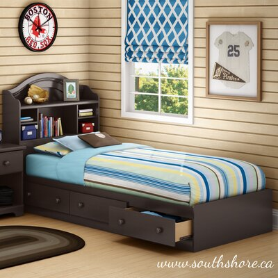 Summer Breeze Twin Mates Bed with Storage