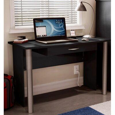 Black Wood Computer Desk On Black Wood Computer Desk Wayfair