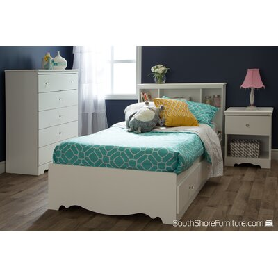 Crystal Twin Mates Bed with Storage
