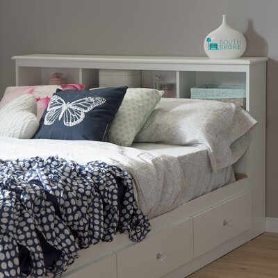 Crystal Bookcase Headboard Size: Full