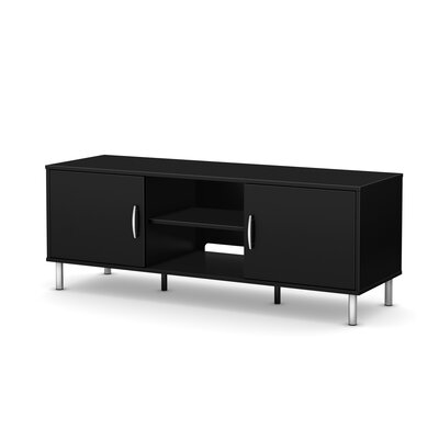 Renta TV Stand Finish: Pure Black