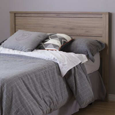 Fynn Full Panel Headboard Color: Rustic Oak
