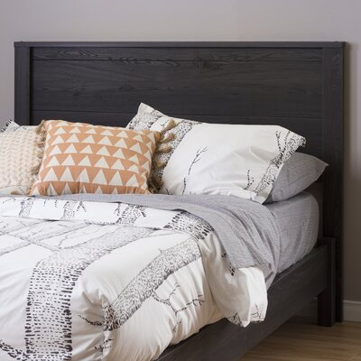 Fynn Full Panel Headboard Color: Gray Oak