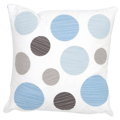 Gray and Blue Decorative Throw Pillow
