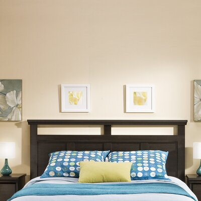 Versa Panel Headboard Finish: Ebony