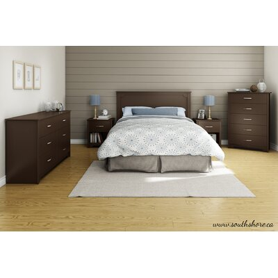 Fusion Queen Platform Customizable Bedroom Set