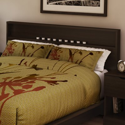 Holland Full/Queen Panel Headboard Color: Chocolate