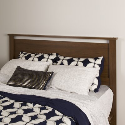 Primo Queen Panel Headboard Color: Brown Walnut