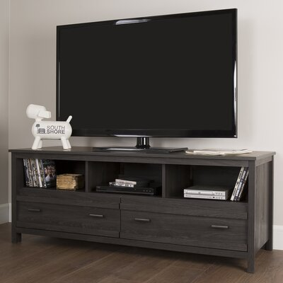Exhibit 60 TV Stand Color: Gray Oak