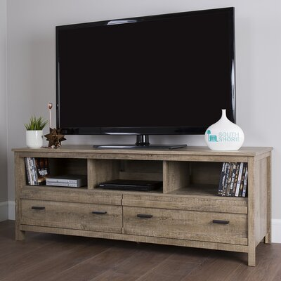 Exhibit TV Stand Finish: Weathered Oak