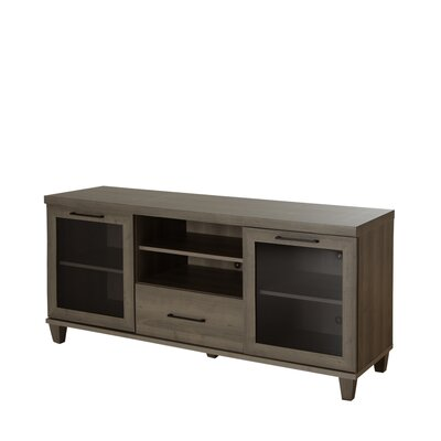 Adrian TV Stand Finish: Gray Maple