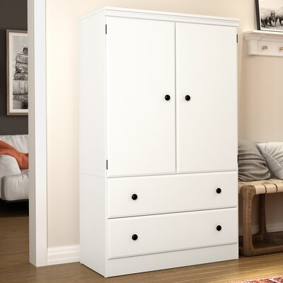 Preciado Traditional Armoire Finish: Pure White