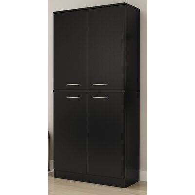 Axess Armoire Finish: Pure Black