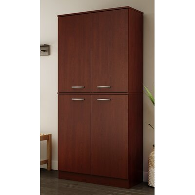 Axess Armoire Finish: Royal Cherry