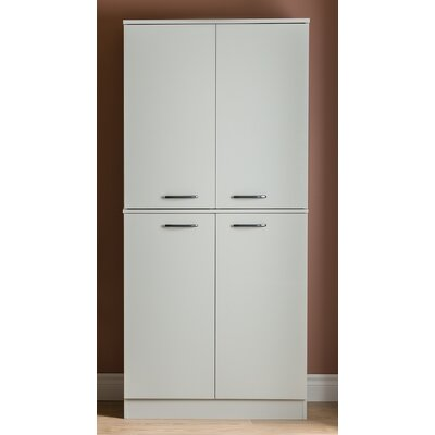 Axess Armoire Finish: Soft Gray