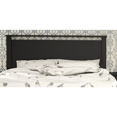 Primo Panel Headboard Upholstery: Pure Black