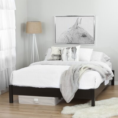 Step One Queen Platform Bed Finish: Chocolate