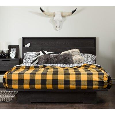 Holland Queen Storage Platform Bed Finish: Gray Oak