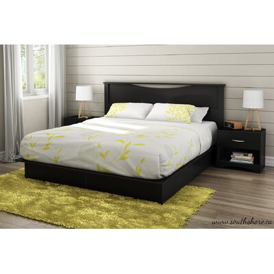 King Storage Platform Bed
