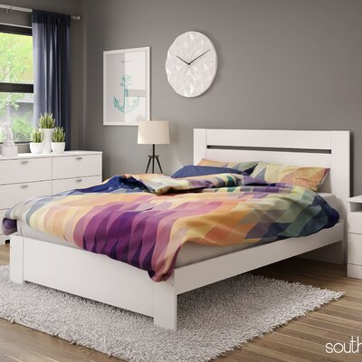 Reevo Queen Platform Customizable Bedroom Set