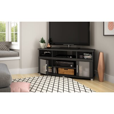 City Life Corner 47 TV Stand Color: Gray Oak
