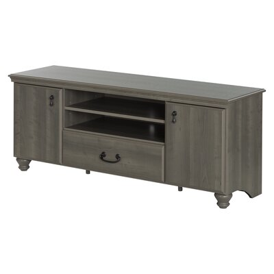 Noble 59.3 TV Stand Color: Gray Maple