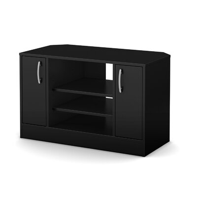 Axess 36 TV Stand Color: Pure Black