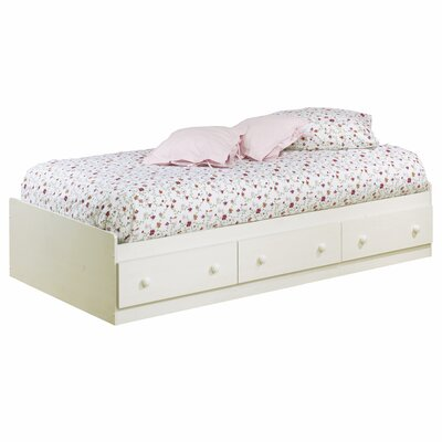 Cheap Summer Breeze White Wash Mates Bed Box Size: Twin (TH1210_7182355)