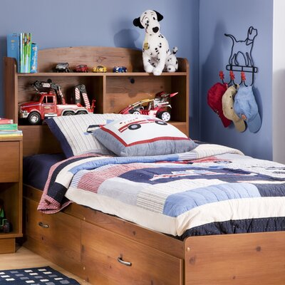 Logik Twin Mates Bed with Bookcase