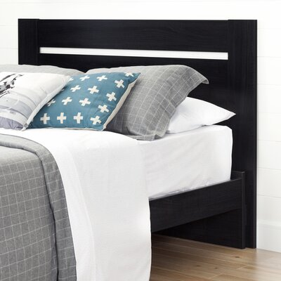 Reevo Panel Headboard Color: Black Onyx