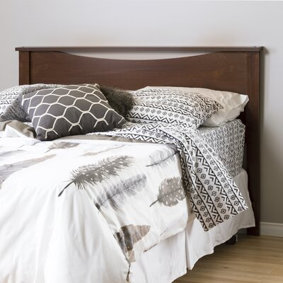Infinity Panel Headboard Finish: Chocolate, Size: Twin