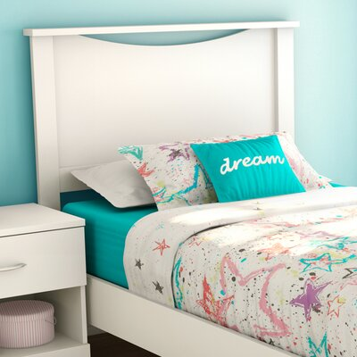 Infinity Panel Headboard Finish: Pure White, Size: Queen
