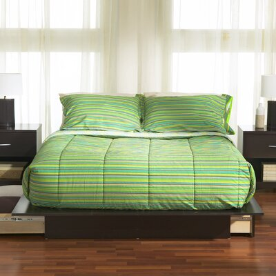 Back Bay Storage Platform Bed Finish: Pure Black, Size: Queen
