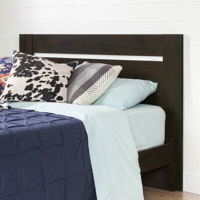 Flexible Panel Headboard Color: Brown Oak