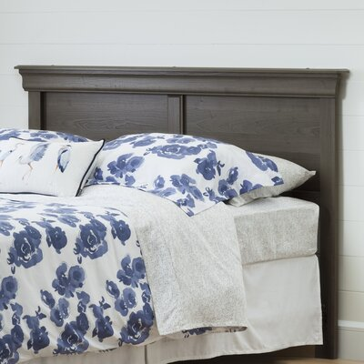 Vintage Panel Headboard Color: Gray Maple