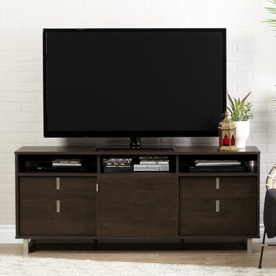 Uber TV Stand Finish: Brown Oak