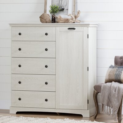 Avilla 5 Drawers Gentlemans Chest