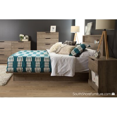 Holland Full/Queen Storage Platform Customizable Bedroom Set