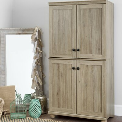 Hopedale Armoire Finish: Rustic Oak