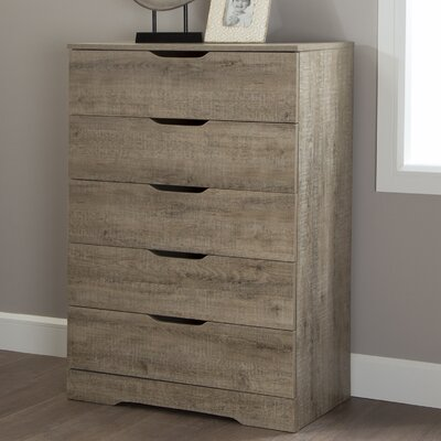 Holland 5 Drawer Chest