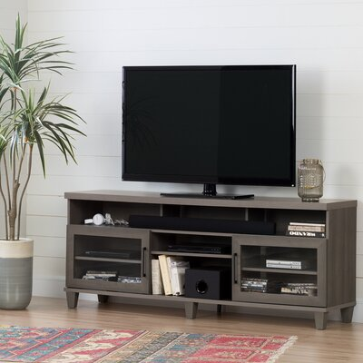 Adrian 70.3 TV Stand Color: Gray Maple
